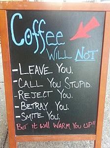 Deb, Joey and Coffee Promises