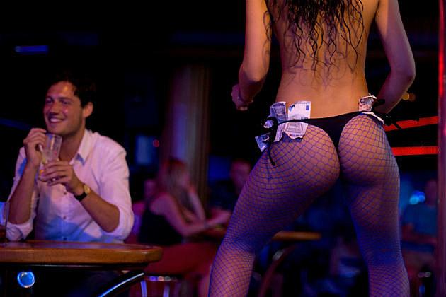 sexy stripper strips