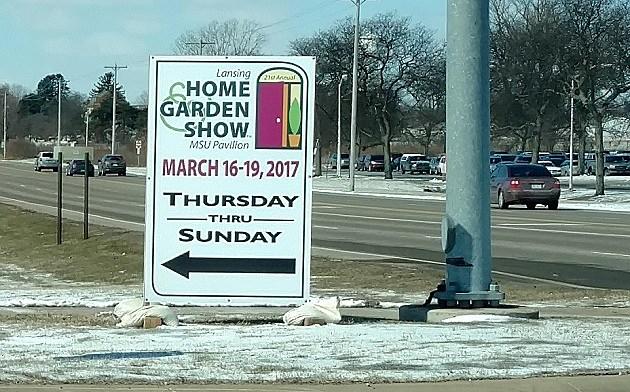 Lansing Home & Garden Show Sign