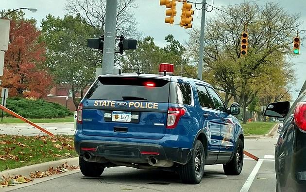 MI State Police Car