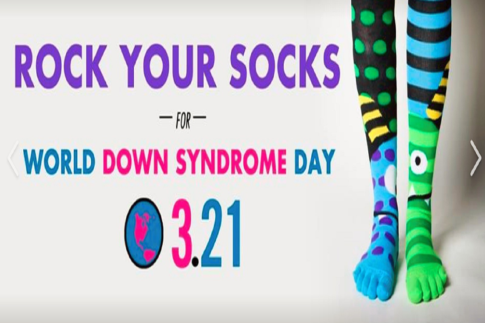 Today is World Down Syndrome Day
