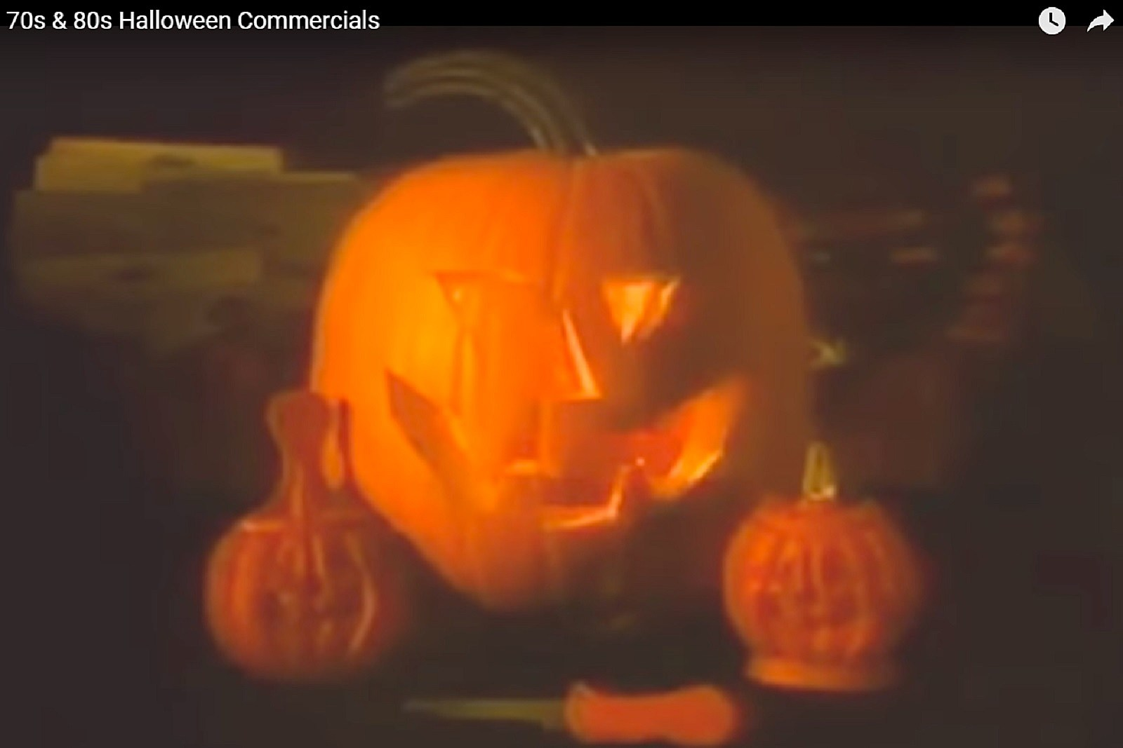 this is classic: 70's and 80's halloween advertisements